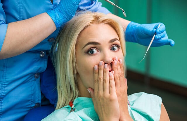 Dental phobia is a thing of the past in Vip Dental Center we take care of you like in a spa