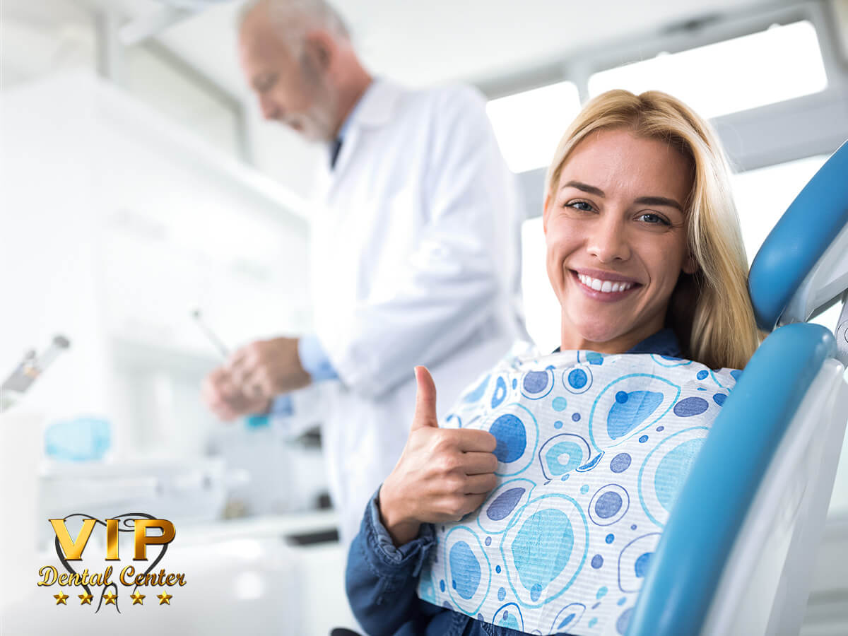 Happy Woman After A Dental Implant Extraction In Palm Harbor, FL